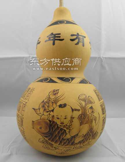 储物罐天然葫芦工艺品/茶叶罐烙画葫芦
