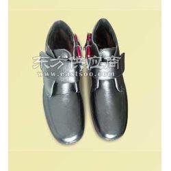 充电皮鞋老年保暖鞋图片