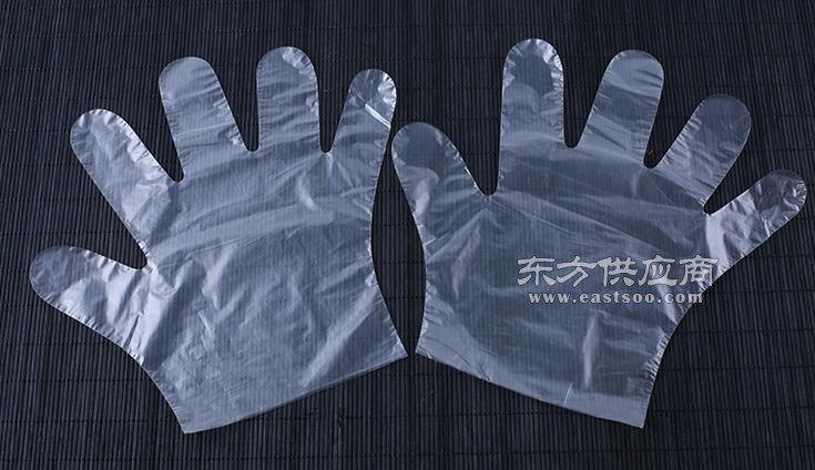 塑料材料一次性手套生产厂家图片