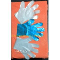 一次性透明级PE手套图片