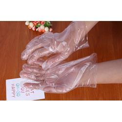一次性透明PE卫生手套哪里有卖的图片