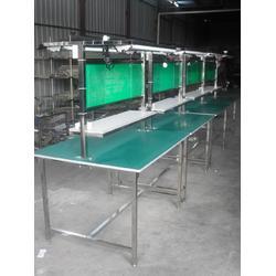 【湖南工作桌厂家】、QC工作桌厂家、质检工作台尺寸图片