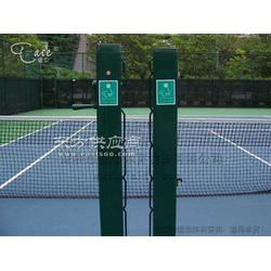 网球场方形直插式网球柱 AY-008 预埋式网球柱图片