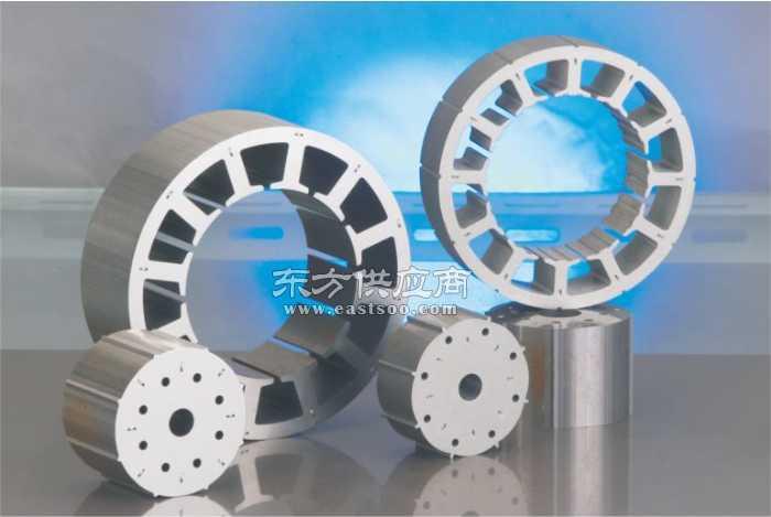 矽钢片高冲空调直流电机定转子铁芯