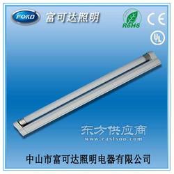 T5 14w 28w 喷白无罩铝工程支架灯日光灯管荧光灯图片