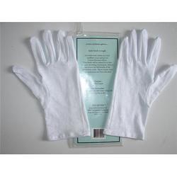 优质白色纯棉手套、富优特远销海外、湛江白色纯棉手套图片