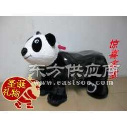 供应公园儿童健身玩具马电动机械马玩具马图片