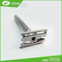 不锈钢剃须刀水镀白钢色电镀加工 沙井电镀加工厂专业电镀图片