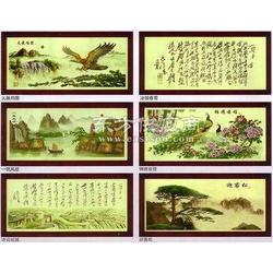 铜板纸数码印刷机挂画彩色彩印机图片