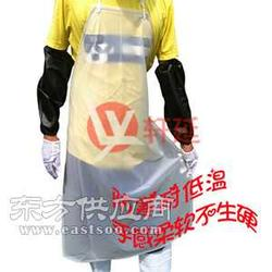 轩延现货供应高弹性防水围裙透明食品围裙图片