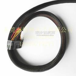 HDMI线编织网管尼龙伸缩编织网管线束编织网套管厂家图片