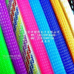 涤纶PET丝编织网管制造商编织网套管性能作用图片