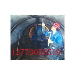 污水管道接头交接处错位开裂渗漏水堵漏图片