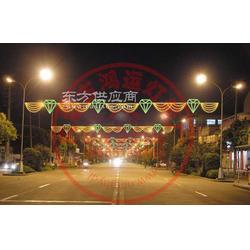 横街灯灯光隧道图片