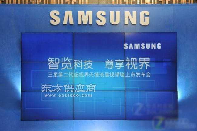 监控 会议 高清三星LCD电视拼接墙图片