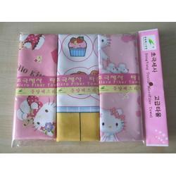 韩国卡通印花毛巾_卡通印花毛巾_东洋纺织卡通印花毛巾图片