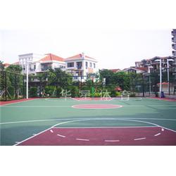 菘茂体育 丙烯酸篮球场 东莞篮球场篮球场图片