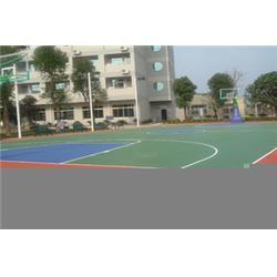 东莞篮球场篮球场_菘茂体育_pu篮球场图片