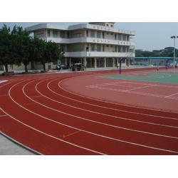 东莞篮球场塑胶跑道、复合型塑胶跑道、菘茂体育图片