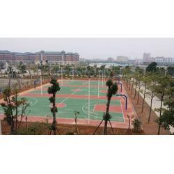 菘茂体育、网球场工程、东莞篮球场网球场图片