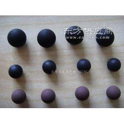 高温240度氟胶橡胶球 水磨橡胶球硬度图片