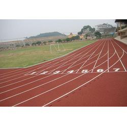 EPDM塑胶跑道哪家好-EPDM塑胶跑道-博森建材体育场图片