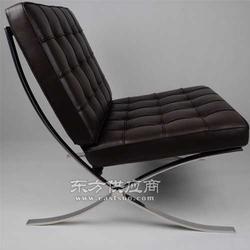 进口时尚经典真皮巴塞罗那躺椅子沙发图片