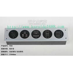 多功能墙面插座/多媒体墙面插座PX05新款图片