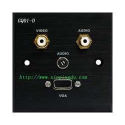 多媒体墙面插座GQ01-D图片