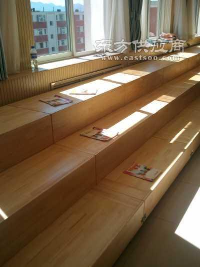 实木樟子松合唱台阶 伸缩式合唱台阶图片图片