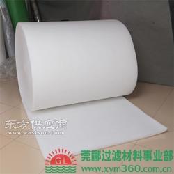 莞郦制造初效过滤棉 进风口棉 风机过滤棉图片