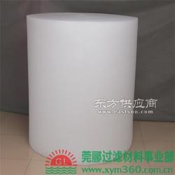 莞郦供应商专业缔造各种聚酯纤维过滤棉图片
