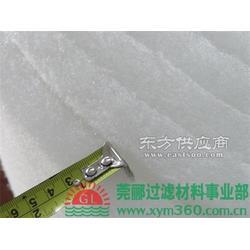 莞郦过滤棉原料是涤纶纤维和低熔点粘合纤维混合图片