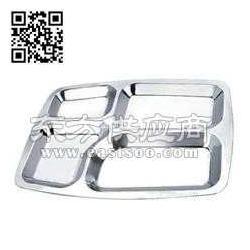 不锈钢快餐盘 学生快餐盘生产厂家图片