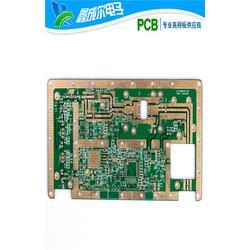 六层沉金板高频板_高频板_鑫成尔电子(查看)图片