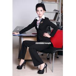 定制韩版西装生产厂家、韩版西装、思韵服饰图片