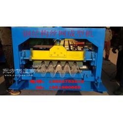 新型絲網成型澆筑混凝土骨架機 成型機械設備生產廠家 永生彩鋼壓瓦機 專業機械設備制作圖片