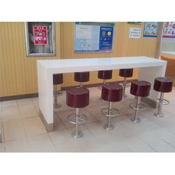 实木快餐桌尺寸 湖南吧台吧凳 河姆渡快餐桌椅实惠图片