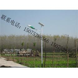 新农村太阳能路灯 安装太阳能路灯图片