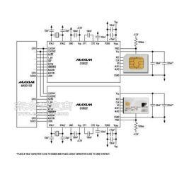POS机 智能卡接口芯片DS8023-RJX图片