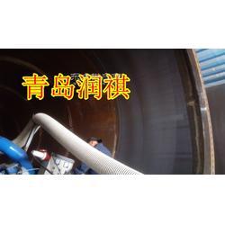 风电行业福利-塔筒内壁抛丸机-塔筒除锈机图片