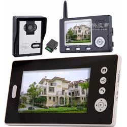 别墅可视对讲门铃2.4G无线可视门铃图片