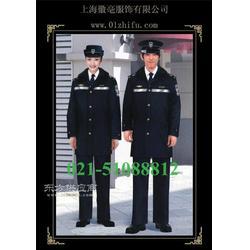 保安服装定做保安工作服订做保安棉大衣定制图片