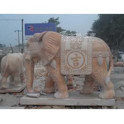 石雕大象工艺品厂家图片