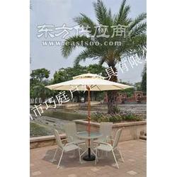 庭院中柱太阳伞户外太阳伞专业生产厂家图片