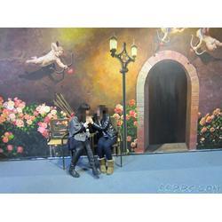 三D壁画、三D壁画设计、深圳亚特美专业手绘3D壁画图片