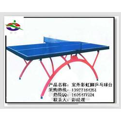 JN-0803彩虹脚室外乒乓球台图片