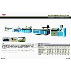 塑料型材生产线异型材挤出生产线塑料异型材生产线图片