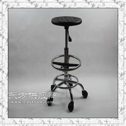 靠背椅防静电圆凳,PU透气孔工作椅洁净室图片