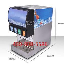 灯箱型推杆式多功能碳酸饮料现调机图片